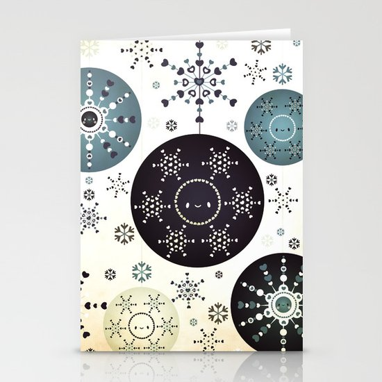 Snowflakes Part Deux Stationery Cards