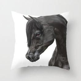 Obsidian Throw Pillow