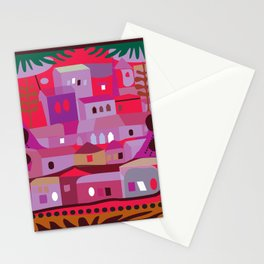Silverlake from Elysian Park Stationery Cards