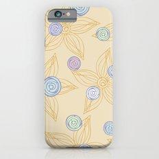 Soft flowers Slim Case iPhone 6s