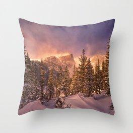 Dream Lake - Rocky Mountain National Park Throw Pillow