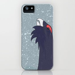 Capercaille iPhone Case