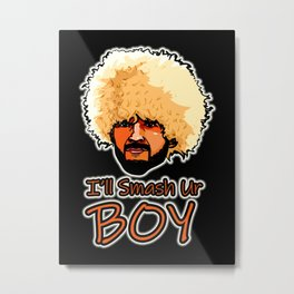 Khabib Smash McGregor Metal Print