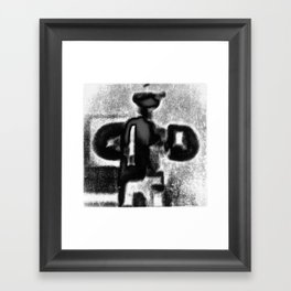 Over the old way of doing things Framed Art Print