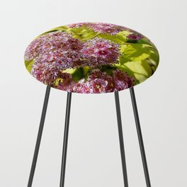 Lilac flowers Counter Stool