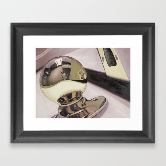 Doorknob #3 Framed Art Print
