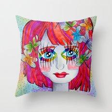 Miss Elm Throw Pillow