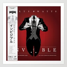 Invisible -  Variant Art Print
