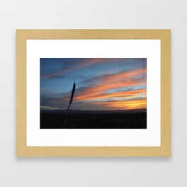 Sunrise at Big Bend III Framed Art Print