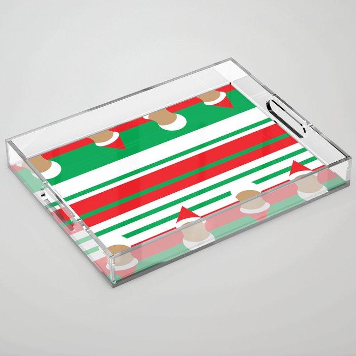 Christmas Acrylic Tray