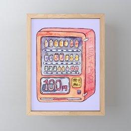 Cold Drinks Framed Mini Art Print