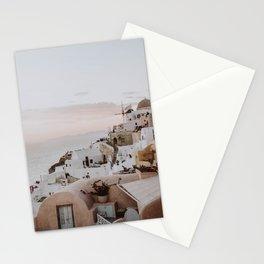 santorini ix / greece Stationery Cards