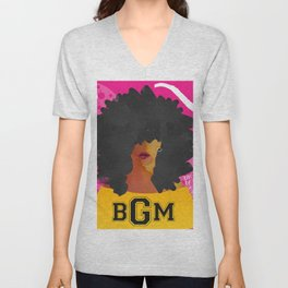 SCHOOL OF BLACK GIRL MAGIC Unisex V-Neck