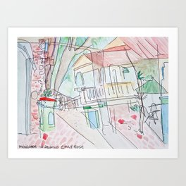 mongoose junction Art Print