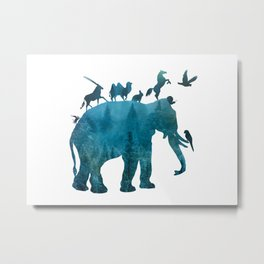 Animals Metal Print