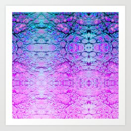 Melted Wizard Art Print