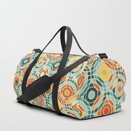 Bauhaus Geometric Duffle Bag