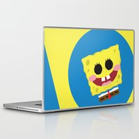 spongebob Laptop & iPad Skins featuring Spongebob Squarepants by Eyetoheart