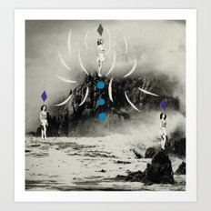 distant sounds Art Print