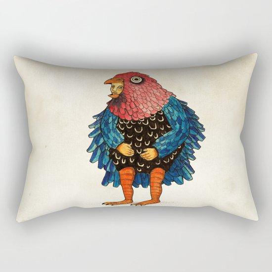 El pájaro Rectangular Pillow