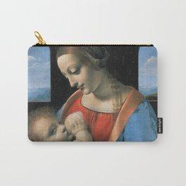 "Leonardo da Vinci ""Madona Litta"" Carry-All Pouch"