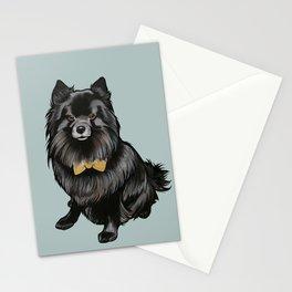 Ozzy the Pomeranian Mix Stationery Cards