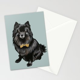 Ozzy the Pomeranian Mix Stationery Cards