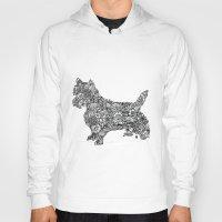 terrier Hoodies featuring Terrier by PawPrints