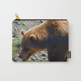 Griz - Wildlife Art Print Carry-All Pouch