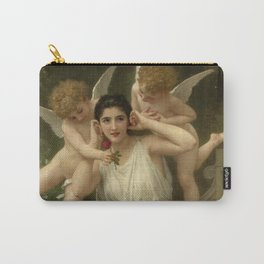 """William-Adolphe Bouguereau """"Youth"""" Carry-All Pouch"""
