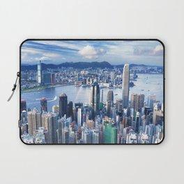 Hong Kong-Buildings Laptop Sleeve