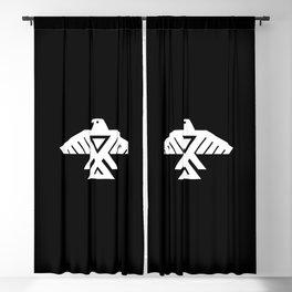 Thunderbird flag - Inverse Blackout Curtain