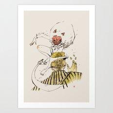 MONONOKE (SASHIMI) Art Print