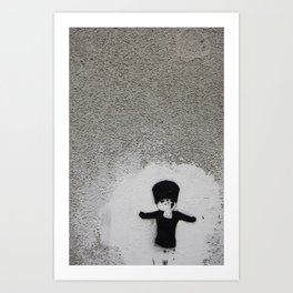 Little soldier Art Print