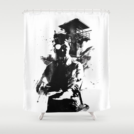 Once I was the govenor Shower Curtain