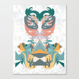 Ribs and the Illuminati Canvas Print