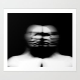 Portrai Art Print
