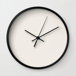 Simply Solid - Coconut Milk Wall Clock