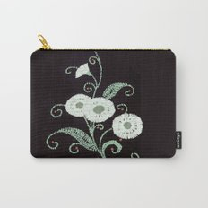 A Lenape Bead Bloom Carry-All Pouch