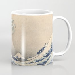 Under the Great Wave off Kanagawa - Katsushika Hokusai (1829-1833) Coffee Mug