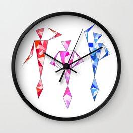 Dancing Mermaids Wall Clock