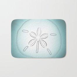 Sand Dollar Blessings - Pointilist Art Bath Mat