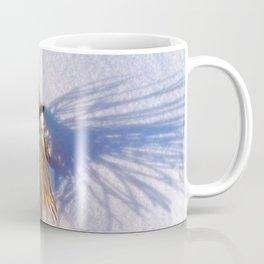 Pine Needles on Fresh Snow Coffee Mug