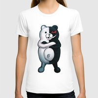 dangan ronpa T-shirts featuring Monobear by Prince Of Darkness