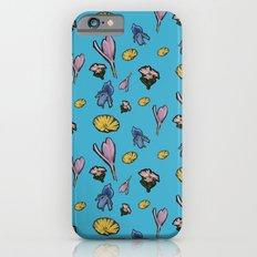 cutout flowers iPhone 6s Slim Case