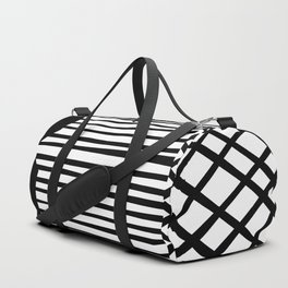 Graphic Design Geometric Patchwork Duffle Bag
