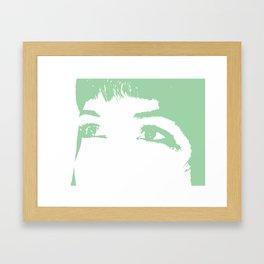 Melissa Eyes Framed Art Print