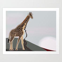 Terror Series I, Endangered VIII Art Print