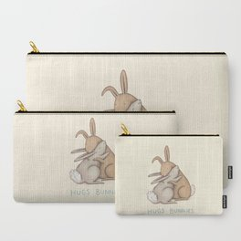 Hugs Bunnies Carry-All Pouch