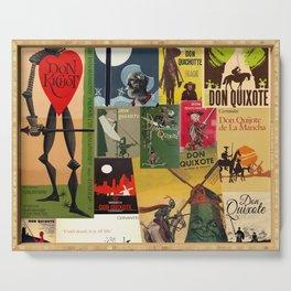 Don Quixote Serving Tray
